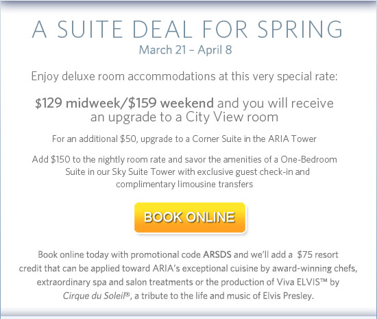 A Suite Deal For Spring